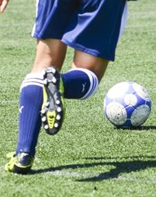 かんのう整骨院スポーツ傷害サッカーの写真
